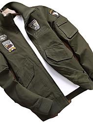 cheap -Men's Jacket - Contemporary Shirt Collar / Long Sleeve