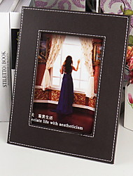cheap -Modern / Contemporary Leather Multi-Ply Picture Frames, 1pc