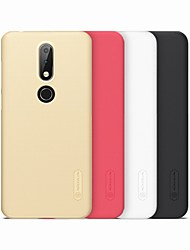 abordables -Funda Para Nokia Nokia 7 Plus / Nokia X6 Congelada Funda Trasera Un Color Dura ordenador personal para Nokia 7 Plus / Nokia 6 2018 / Nokia X6