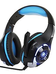 abordables -KOTION EACH GM-1 Bandeau Câblé Ecouteurs Ecouteur ABS + PC Jeux Écouteur Avec Microphone / Avec contrôle du volume Casque