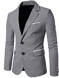 Недорогие -мужской выход работа blazer-color block v neck