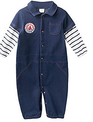 cheap -Baby Boys' Solid Colored Short Sleeves Overall & Jumpsuit