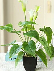 cheap -Artificial Flowers 1 Branch Classic Modern / Contemporary / Simple Style Calla Lily Tabletop Flower