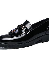 Недорогие -Муж. Официальная обувь Искусственная кожа Наступила зима Мокасины и Свитер Золотой / Черный / Свадьба / Для вечеринки / ужина