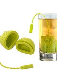 Недорогие -сова птичий чай инфузионный силиконовый сыпучий лиственный чай сетчатый травяной пряный фильтр