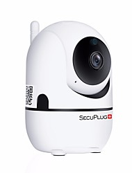 economico -SecuPlug+ SP09 1 mp IP Camera Al Coperto Support64 GB