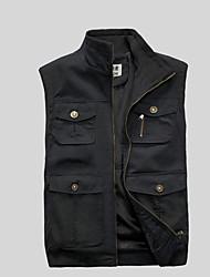 cheap -Men's Vest - Contemporary Stand / Sleeveless