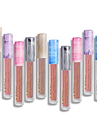 cheap -Lip Balm Lip Gloss 12 pcs Mineral Waterproof / Portable / Moisturizing Mineral / Easy to Carry Fashion Makeup Cosmetic Daily Wear Grooming Supplies
