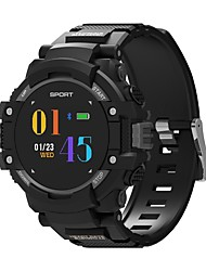 cheap -Smartwatch NO.1 F7 for iOS / Android Waterproof / GPS / Long Standby / Touch Screen / Creative Pedometer / Call Reminder / Activity Tracker / Sleep Tracker / Sedentary Reminder / Compass / NRF52832