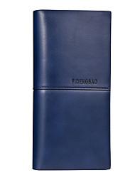 baratos -sacos de homens carteira de couro napa azul sólido