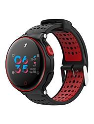 Недорогие -NO.1 X2 plus Смарт Часы Android iOS Bluetooth Водонепроницаемый Пульсомер Измерение кровяного давления Сенсорный экран Израсходовано калорий / Длительное время ожидания / Секундомер / Педометр