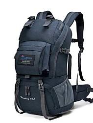 Недорогие -40 L Заплечный рюкзак - Воздухопроницаемость Пригодно для носки На открытом воздухе Пешеходный туризм Восхождение Трейлраннинг 100 г / м2 полиэфирный стреч-трикотаж Синий Серый Хаки