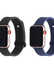 economico -Cinturino per orologio  per Apple Watch Series 4/3/2/1 Apple Cinturino sportivo Silicone Custodia con cinturino a strappo
