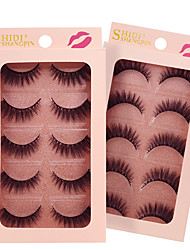 cheap -lash False Eyelashes Portable Makeup 1 pcs Eye Classic & Timeless / Trendy Event / Party / Daily Wear Daily Makeup / Halloween Makeup / Party Makeup Natural Curly Cosmetic Grooming Supplies