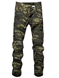economico -Per uomo Militare Jeans Pantaloni - Camouflage