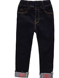 preiswerte -Kinder Jungen Solide Jeans
