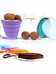 Недорогие -Drinkware Необычные чашки / стаканы / Бокал Полный силикон для тела Компактность / Милые Для занятий спортом / Праздники