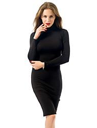economico -Per donna Fodero Vestito Medio