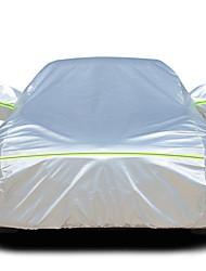 abordables -Couvrant Couvertures de voiture Coton / Film d'aluminium Réfléchissant / Antivol / Barre d'avertissement For Mazda Mazda5 Toutes les Années For Toutes les Saisons
