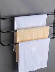 preiswerte -Bad Zubehör-Set / Handtuchhalter / Badezimmer Regal Neues Design / Mehrlagig / Cool Moderne / Antike Edelstahl 1pc - Bad / Hotelbad 3-Handtuch-Bar Wandmontage