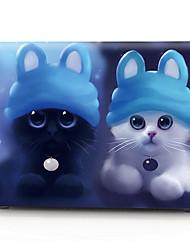 """baratos -Capa para MacBook Gato Plástico para Para o Novo MackBook Pro 15"""" / Para o Novo MackBook Pro 13"""" / MacBook Pro 15 Polegadas"""