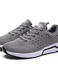 cheap -Men's Knit / Elastic Fabric Summer Comfort Sneakers Black / Dark Blue / Gray