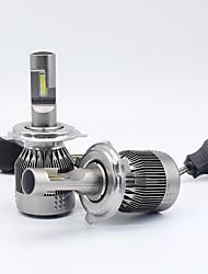 baratos -SO.K 2pcs 9003 / H10 / 9004 Carro Lâmpadas 30 W LED Integrado / COB 8000 lm 2 LED Lâmpada de Farol Todos os Anos