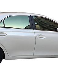 Недорогие -Зеленый Автомобильные наклейки Деловые Умеренное Сокрытие (Передача 21-35%) Автомобильная пленка