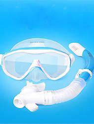 economico -Diving Pacchetti - Maschera da sub, Boccaglio - Resistente all'acqua, Bambini / Teenagers Snorkeling FRP, POM Per Bambino