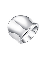 cheap -Women's Band Ring - Silver Plated, Alloy Fashion 8 Silver For Daily