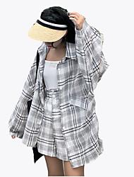 abordables -Mujer Camisa - Bloques Pantalón