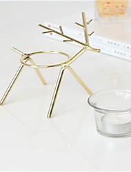 Недорогие -Модерн стекло / Железо Подсвечники Канделябр 1шт, Свеча / подсвечник