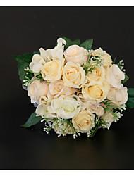 Недорогие -Свадебные цветы Букеты / Декорации Свадьба / Свадебные прием Гербарий / Кружево / Цветочный бутон 11-20 cm