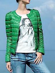 preiswerte -Damen - Solide Grundlegend Jacke