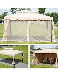 Недорогие -YouOKLight 10 человек Семейный кемпинг-палатка Двухслойные зонты Карниза Палатка На открытом воздухе Дожденепроницаемый, С защитой от ветра, Устойчивы к ультрафиолетовому излучению для