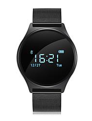 abordables -STM7 Montre Smart Watch Android iOS Bluetooth Imperméable Moniteur de Fréquence Cardiaque Mesure de la pression sanguine Ecran Tactile Podomètre Rappel d'Appel Moniteur d'Activité Moniteur de Sommeil