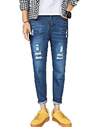 abordables -Hombre / Mujer Tallas Grandes Pantalones Harén Pantalones - Un Color