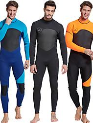 cheap -SBART Men's Full Wetsuit 3mm SCR Neoprene Diving Suit Long Sleeve Patchwork