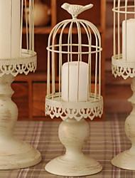 baratos -Estilo Europeu Ferro Suporte de Vela Castiçal 1pç, Candle / Candle Holder