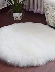 baratos -Os tapetes da área Casual / Modern Poliéster, Circular Qualidade superior Tapete / Não Skid