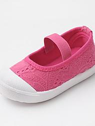 preiswerte -Jungen / Mädchen Schuhe Leinwand Frühling Sommer Komfort Loafers & Slip-Ons Elastisch für Baby Fuchsia / Blau / Rosa