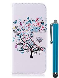 Недорогие -Кейс для Назначение Huawei P20 Pro / P20 lite Кошелек / Бумажник для карт / со стендом Чехол дерево Твердый Кожа PU для Huawei P20 / Huawei P20 Pro / Huawei P20 lite