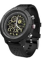 Недорогие -Смарт Часы NX02 для iOS / Android Водонепроницаемый / Израсходовано калорий / Длительное время ожидания / Творчество / Новый дизайн / Секундомер / Напоминание о звонке / Датчик поворачивания экрана