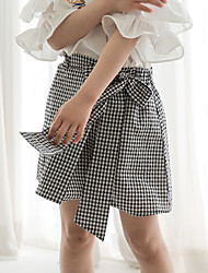 cheap -Kids Girls' Check Skirt