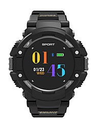 abordables -Reloj elegante NO.1 F7 para iOS / Android Monitor de Pulso Cardiaco / Impermeable / Medición de la Presión Sanguínea / Calorías Quemadas / Standby Largo Reloj Cronómetro / Podómetro / Recordatorio de