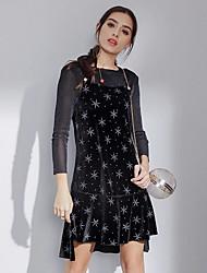 abordables -Femme Chemisier - Géométrique Robes
