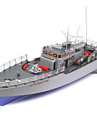Недорогие -Лодка на радиоуправлении HT-2877A Пластик каналы 6 km/h КМ / Ч