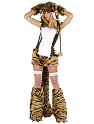 economico -Pirati dei Caraibi / Costumi da pirata Costumi Cosplay / Accessori per capelli / Costume Per donna Halloween / Carnevale Feste / vacanze Costumi Halloween Nero Collage Animal / Halloween