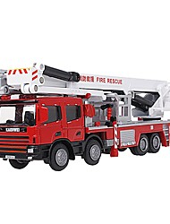 cheap -Toy Car Fire Engine Vehicle Fire Engine City View / Cool / Exquisite Metal All Child's / Teenager Gift