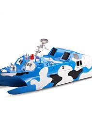 Недорогие -Лодка на радиоуправлении 3832 Пластик каналы 6 km/h КМ / Ч